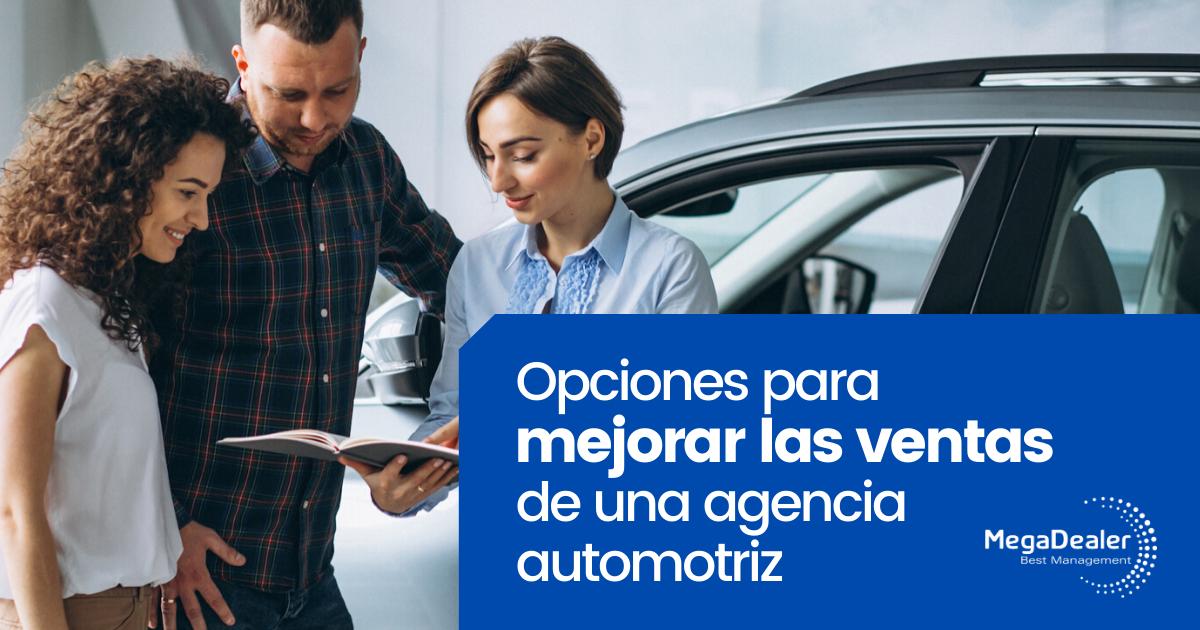 ventas agencia automotriz